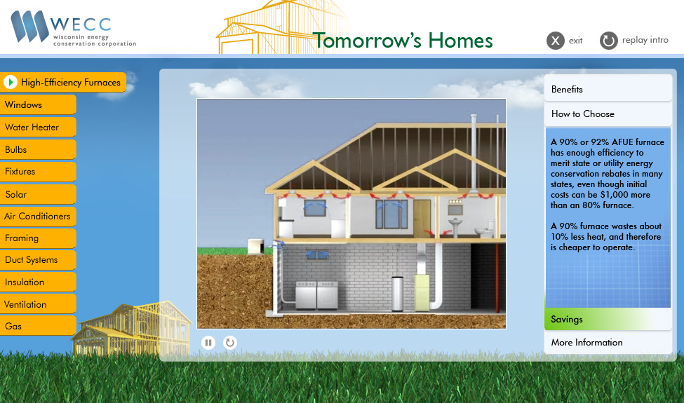 Aj choren wisconsin energy conservation corporation for Tomorrow s home